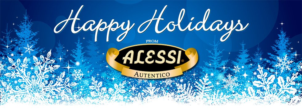 Happy Holidays from Alessi